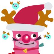 【クリスマス】トナカイに変身!