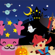 Happy Halloween】ハロウィンコスプレ中...
